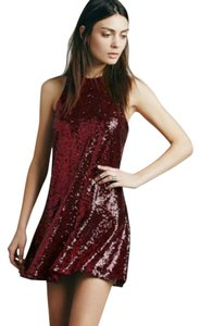 Free People Sequin Sequins Shiny Dress