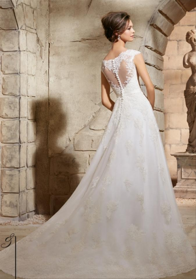 Mori lee 5370 wedding dress on sale 46 off wedding for Best way to sell used wedding dress