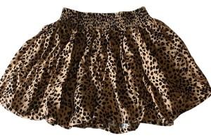 Divided by H&M Mini Skirt Cheetah Print