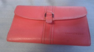 Longchamp Longchamp coral wallet made in France