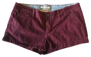 Abercrombie & Fitch Mini/Short Shorts Maroon