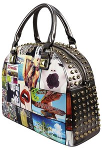 Other Collective Magazine Satchel Tote in Mixed