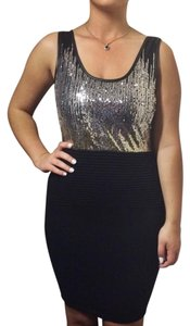 Wow Couture Sequins Knit Pencil Dress