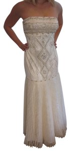 Sue Wong Vintage Beaded Strapless Dress
