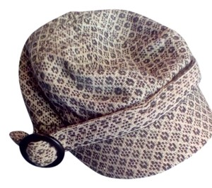 Metropark Patterned Newsboy Style Hat