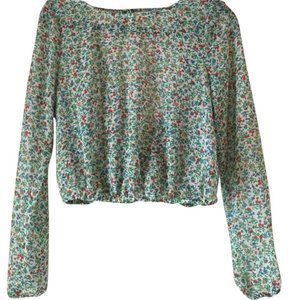 Guess Top Multicolor. Floral pattern