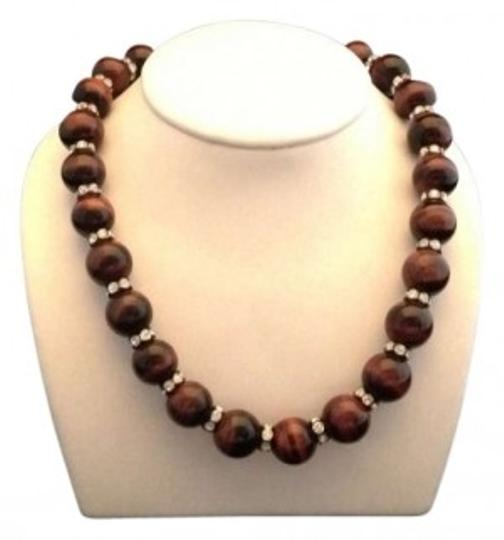Preload https://item3.tradesy.com/images/brown-tigers-eye-16-inch-necklace-163072-0-0.jpg?width=440&height=440