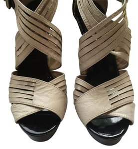 MICHAEL Michael Kors Black and cream. Sandals