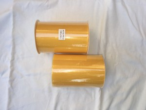 Two Rolls Of 6 In X 100 Yards Yellow Tulle.