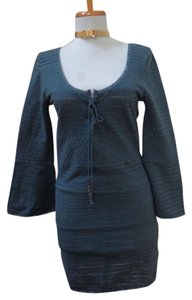 Free People short dress Gray (Slate Blue) on Tradesy