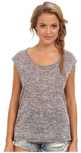 Volcom Cap Sleeve Scoop Neck Sweater