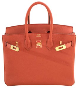 Hermès Satchel in Terre Battue