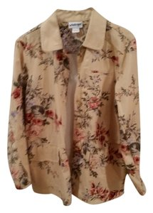 CoSTUME NATIONAL Beige floral Jacket