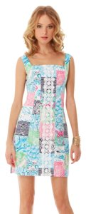 Lilly Pulitzer short dress Osterville Patch Shift on Tradesy