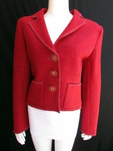 Oscar de la Renta Women Hot Reds Jacket