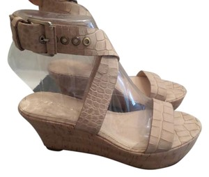 Via Spiga Cappuccino Wedges