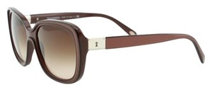 Tiffany & Co. New Tiffany Locks TF 4091 H Sunglasses Square Pearl Rustic Brown
