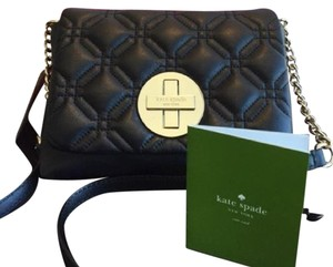 Kate Spade Quilted Classic Chanel Cross Body Bag