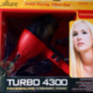 -Allure Professional Blow Dryer Turbo 4300 / Tourmaline / Ceramic / Ionic Technology