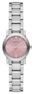 Burberry Burberry The City BU9231 Check Stainless Pink Dial Womens Watch