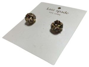 Kate Spade Kate Spade New York Lady Marmalade Pink Stone Stud Earrings