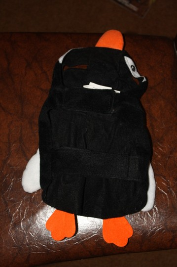 Top Paw Penguin Halloween Dog Costume (Size Small) Image 1
