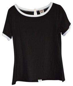 Anne Klein Top Black/ White