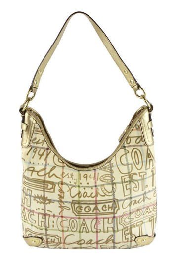 Preload https://item2.tradesy.com/images/coach-chelsea-graffiti-gold-coated-canvas-shoulder-bag-163121-0-0.jpg?width=440&height=440