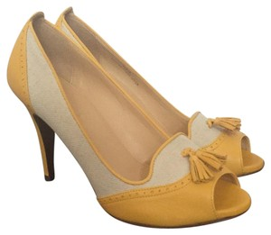 J.Crew Yellow orange (new!) Pumps