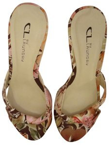 Chinese Laundry Skylar Twist Floral print and cream base Formal