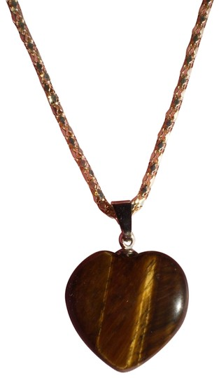 Preload https://item3.tradesy.com/images/new-marbled-dark-amber-heart-necklace-163132-0-1.jpg?width=440&height=440