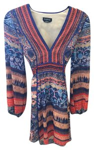 bebe short dress multi on Tradesy