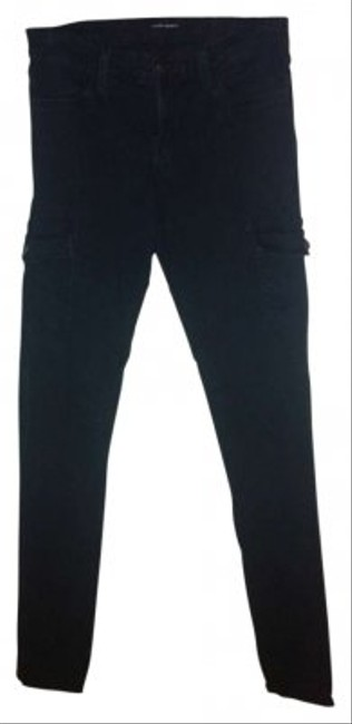 Flying Monkey Cargo Skinny Jeans-Dark Rinse