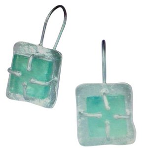 Other Textured Ancient Roman Glass Earrings