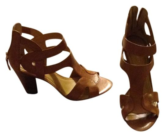 Nine West Zipper Neutral Wedges