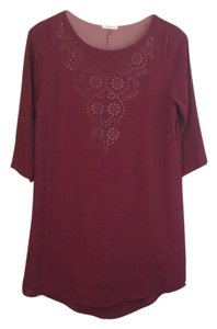 Everly short dress Magenta/pink on Tradesy