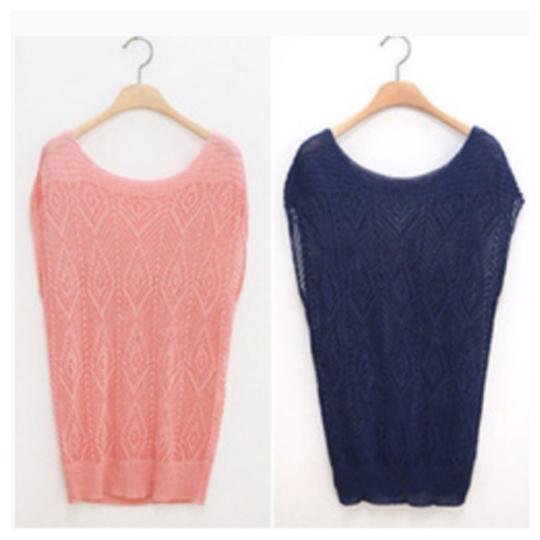 Other Short Sleeve Knitted Sweater Image 1