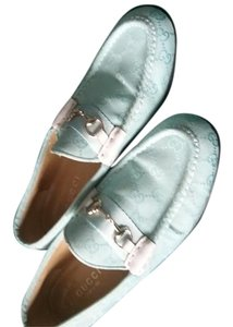 Gucci Lite Blue loafers Flats