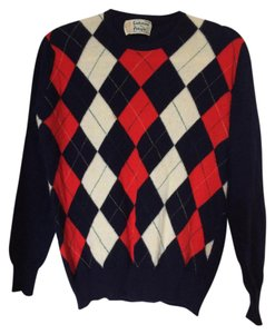Pringle of Scotland Argyle Cashmere Vintage Sweater