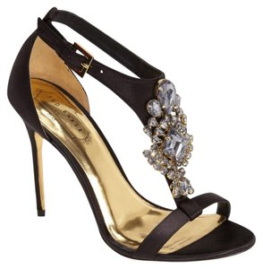 Ted Baker Satin Sandals Black Formal