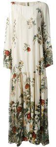 Multi Maxi Dress by Nordstrom Floral Feminine Bohemian Wedding Guest Silk