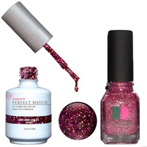 LeChat LeChat Perfect Match Gel color Red Ruby Rules. With Matching Nail Polish. UV/LED Cured