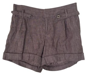 Banana Republic Dress Shorts Grey / Tan