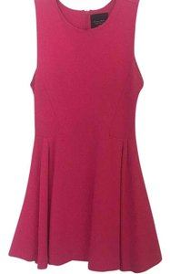 Zara short dress Pink on Tradesy