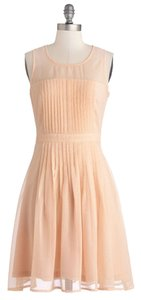 Doe & Rae short dress Pink/Peach on Tradesy