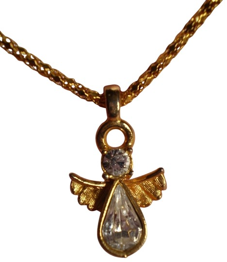 Preload https://item3.tradesy.com/images/crystals-angel-necklace-163182-0-1.jpg?width=440&height=440