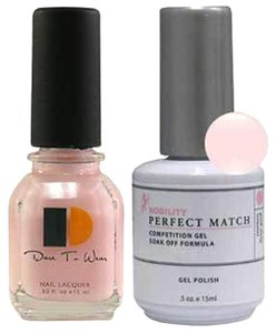 LeChat LeChat Perfect Match Gel color LA PRINCESSE. With Matching Nail Polish. UV/LED Cured