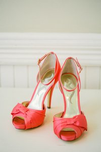 Nina Shoes Coral Salmon Emmylou Pumps Size US 8.5 Regular (M, B)
