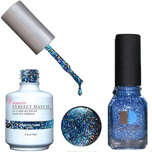 LeChat LeChat Perfect Match Gel color PRINCESS TEARS. With Matching Nail Polish. UV/LED Cured