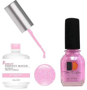 LeChat LeChat Perfect Match Gel color MY FAIR LADY. With Matching Nail Polish. UV/LED Cured